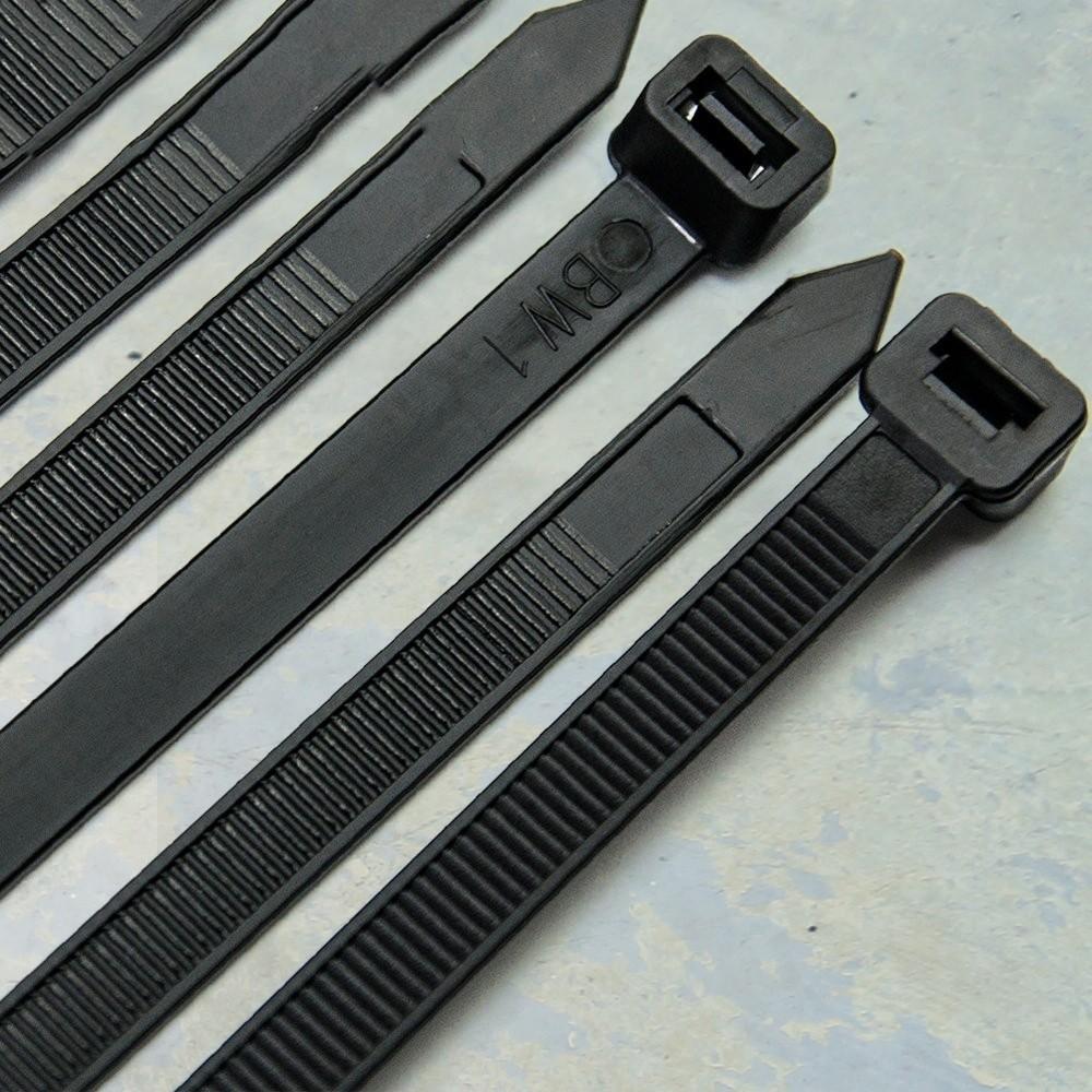 TieWrap - Zwart 300 x 4,8 mm