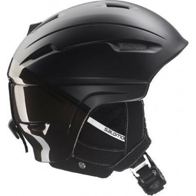 Foto van Salomon Ranger Custom Air Black 2017 Skihelm