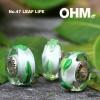 Afbeelding van OHM Beads Leaf Life AMG015 BOTM April