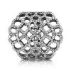 Afbeelding van Pandora 190907CZ zilveren opengewerkte ring met zirkonia