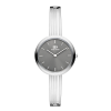 Afbeelding van Danish Design IV64Q1262 Rosemary Grey gestreept armbandhorloge voor dames