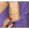 Afbeelding van Armband bolletjes 2,5 mm 17 + 2 cm 13.32600