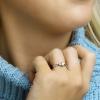 Afbeelding van Witgouden ring met zirkonia 41.04731