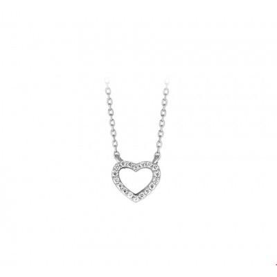 Collier hart zirkonia 1316450