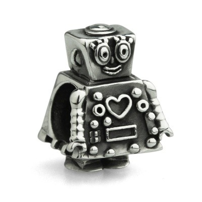 Foto van OHM Beads Darlie the robot AAS019