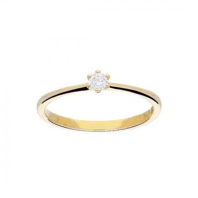 Foto van Ring Solitair Diamant 214.2006