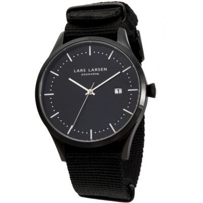 Lars Larsen Heren horloge 119CBBLN