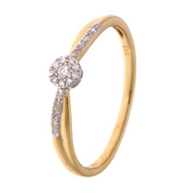 Ring bicolor briljant RK415140 maat 58