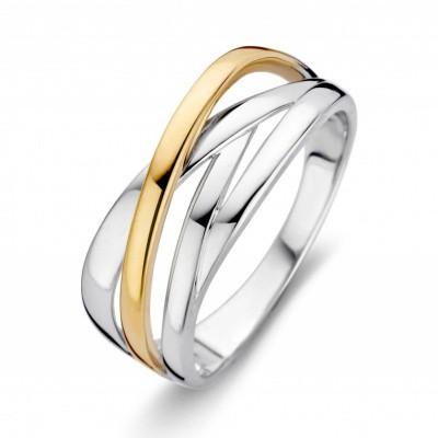 Foto van Ring zilver/goud RF605179-56