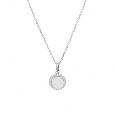 Collier maansteen 1,1 mm 41 + 4 cm 13.30458