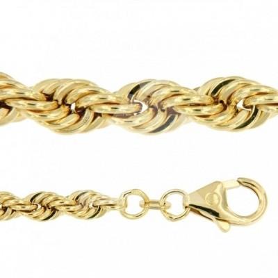 Foto van Gouden Armband koord 3,40 mm geelgoud VIJ0308