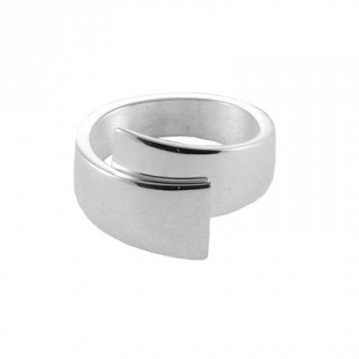 Zilveren handgemaakte ring van Nol Sieraden AG80154.7