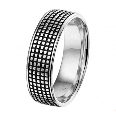 Ring geoxideerd 1101309