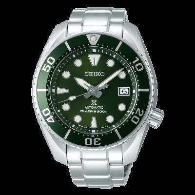 Seiko Prospex SPB103J1 duiker sumo groen heren roestvrij staal