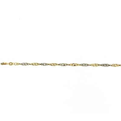 Glow gouden schakelarmband 204.5000.19