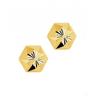 Oorknoppen ster gediamanteerd 4009275