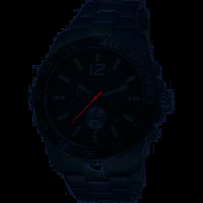 Esprit Athletic Silver Black herenhorloge ES102511004