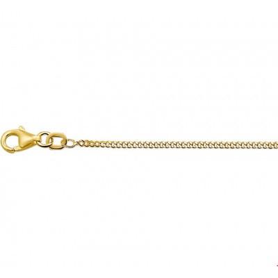 Gouden collier gourmet 1,6 mm