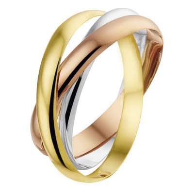 Ring 3-in-1 tricolor 43.00456