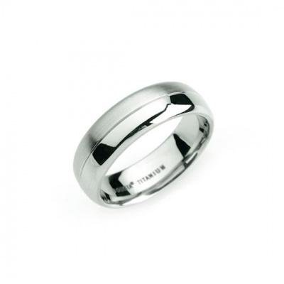 Foto van Titanium ring van Boccia 0109-01