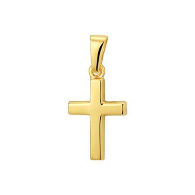 Hanger geelgoud kruis 40.18943