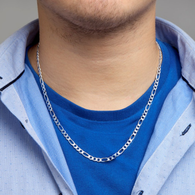 Collier figaro 4,5 mm 10.01945