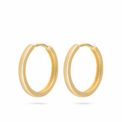 Gouden creolen met een scharniersluiting van Swing Jewels EDC01-5081