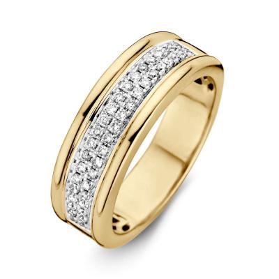 Ring bicolor briljant RG415413
