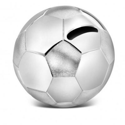 Foto van Spaarpot Voetbal, zilver kleur A6007260