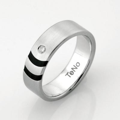 Foto van Teno stalen ring 064.1314.D16