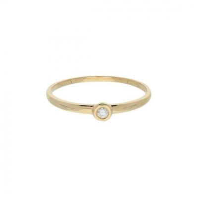 Foto van Ring Solitair Diamant 214.2062
