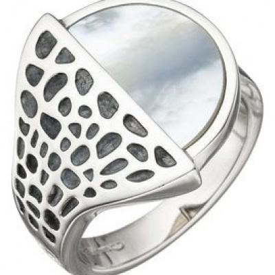 Foto van Zilveren ring van Elisabeth Landeloos R1084