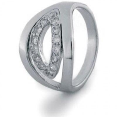 Foto van Zilveren ring met zirkonia 639.116