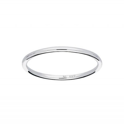 GLOW witgouden ring 214.3050.52 - GLAD - BOL - 1.2MM