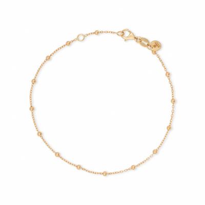Foto van Geelgouden bolletjes armband Alana van Swing Jewels 016830811901