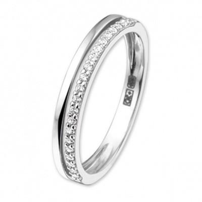 Foto van Witgouden ring met zirkonia 41.03366