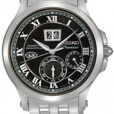 Foto van Seiko Premier SNP041P1 Premier Kinetic Perpetual calender horloge