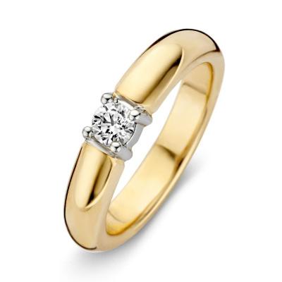 Ring bicolor briljant RG414858