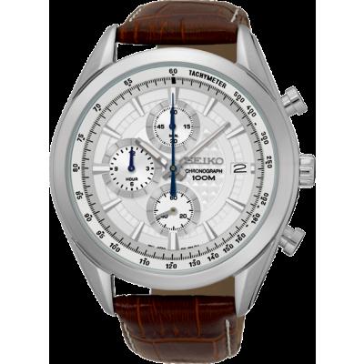 Foto van Seiko Quartz SSB181P1 chronograaf horloge