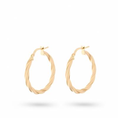 Foto van Geelgouden oorringen van Swing Jewels O184369-14-Y