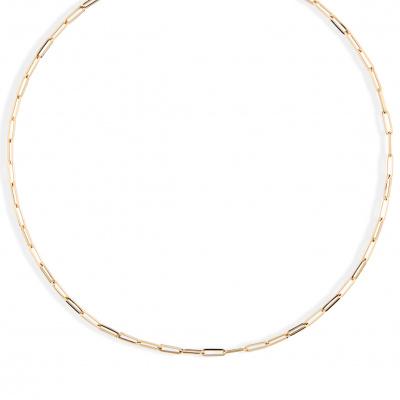 Geelgouden paperclip collier van Swing Jewels 0265.3067.450.01
