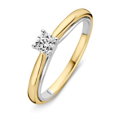 Ring bicolor briljant 0.31 crt RG416142