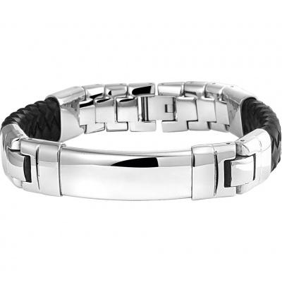 Armband leder 14,5 mm 21 cm