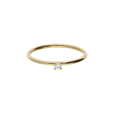 Ring Solitaire diamant gg 1-0.05ct 214.2060.52