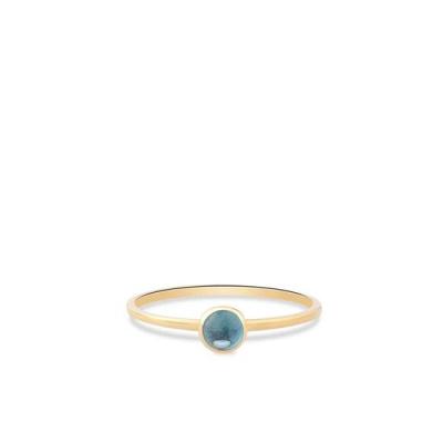 Geelgouden ring met zirkonia RDC01-4305-03