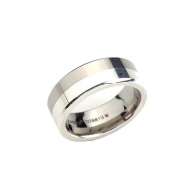 Foto van Titanium ring van Boccia 0107-02