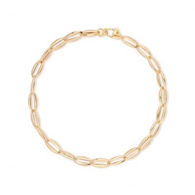 Geelgouden 14 krt armband BRRR12Y