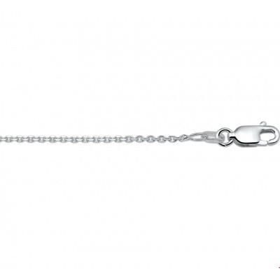 Collier anker gediamanteerd 1,3 mm 50 cm 1018802