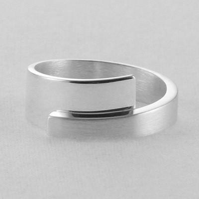 Foto van Zilveren handgemaakte ring van Nol Sieraden AG02177.8