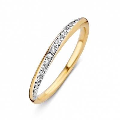Ring geelgoud zirkonia RM126497-50